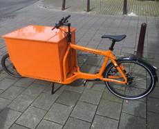Fietskoerier Amsterdam